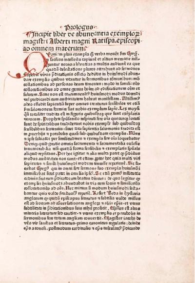 ALBERTUS MAGNUS (ca 1200-1280)