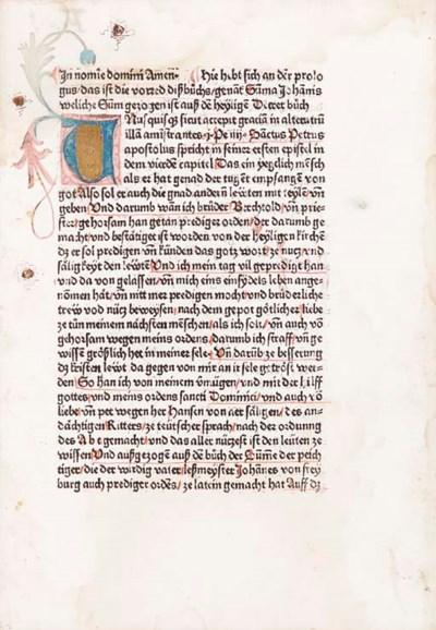 JOHANNES FRIBURGENSIS (ca 1250