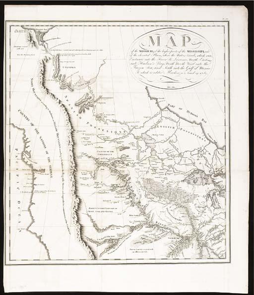 [MAP]. COLLOT, George H.V. (ca