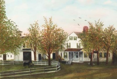 AMERICAN SCHOOL, 20th century
