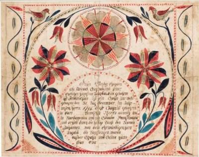 PENNSYLVANIA SCHOOL, dated 179