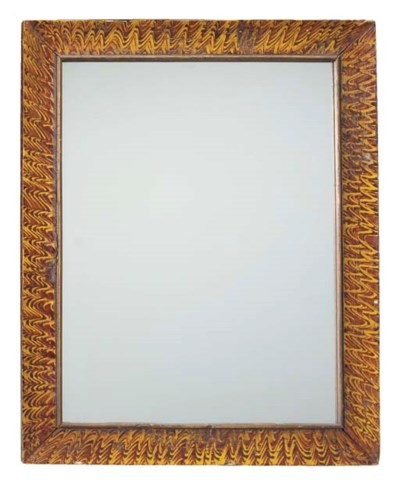 A GRAIN-PAINTED MIRROR