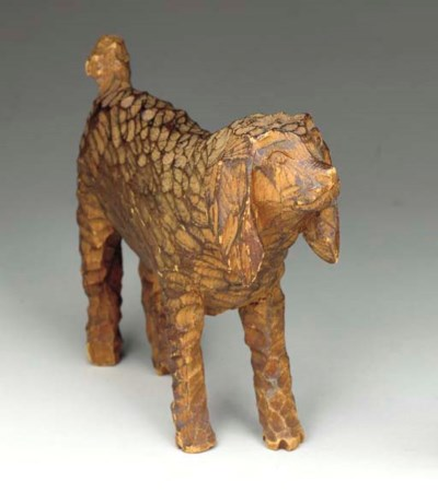 A CARVED DOG
