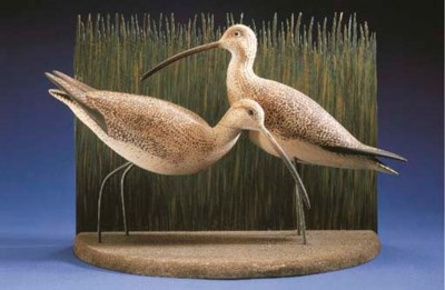 A PAIR OF CURLEW