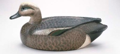 AN OVERSIZED WIGEON DRAKE