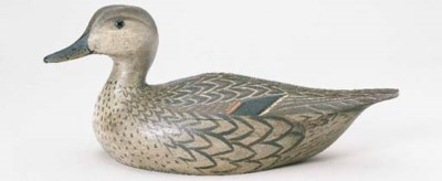 A CONTEMPORARY GREENWING TEAL