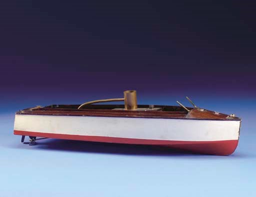 A Live Steam Model Of The Laun