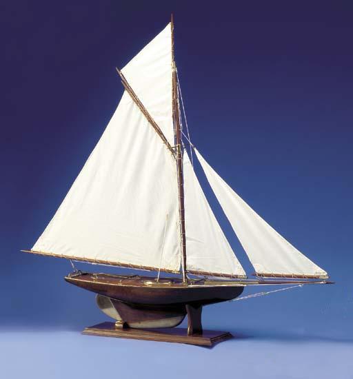 A British Pond Model Tag No. 2