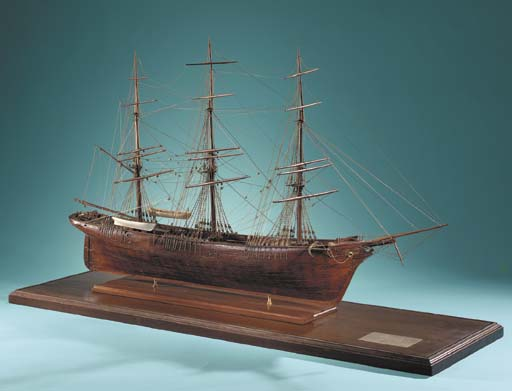 Model Of The Clipper Ship SUNB