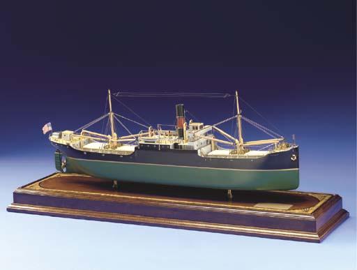 A Model Of The Tramp Steamer E