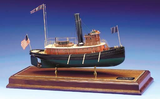 A Model Of The Tugboat Brookly