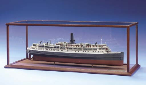 A Model Of The Haganah Ship Ex