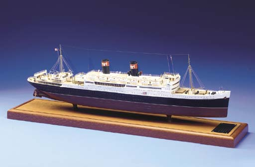 A Scale Model Of The S.S. Pres