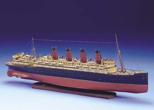 A Fine Old Model Of The R.M.S.