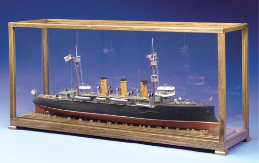 A Model Of The Royal Navy Crui