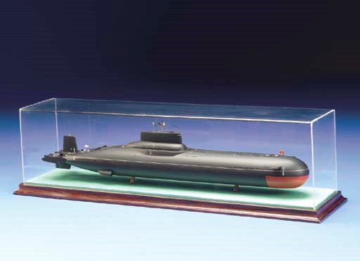 A Scale Model Of A Soviet Typh