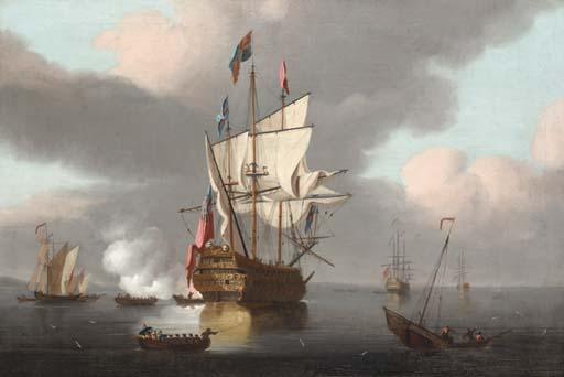 Peter Monamy (British,1689-174