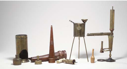 A GROUP OF OBJECTS RELATING TO