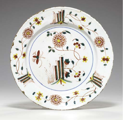 AN ENGLISH DELFT DISH,