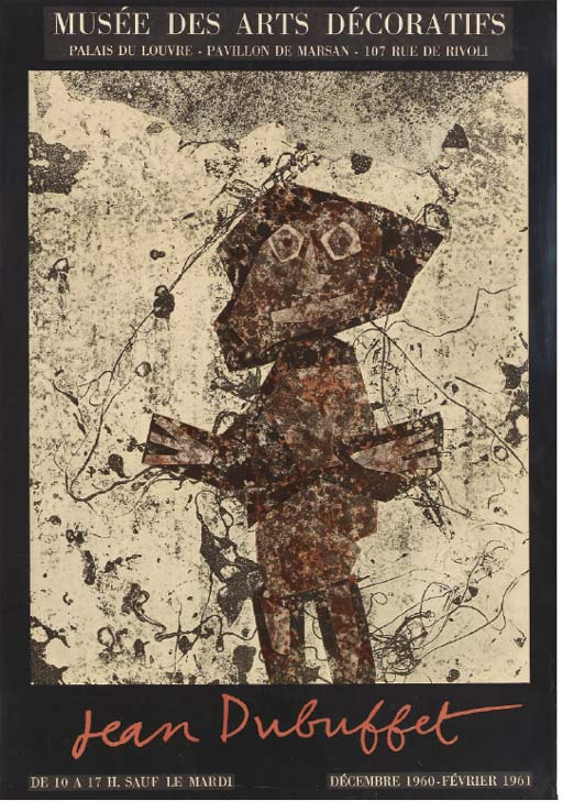 AFTER JEAN DUBUFFET (1901-1985