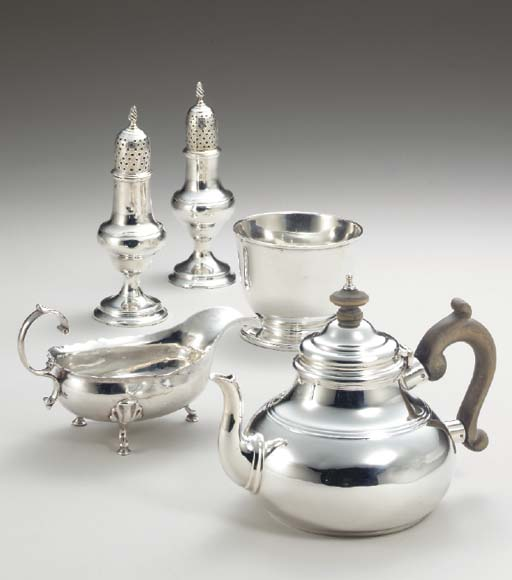 A COLLECTION OF GEORGIAN SILVE