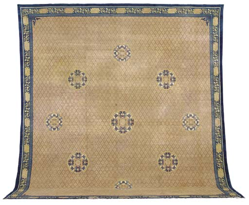 AN INDO CHINESE CARPET,
