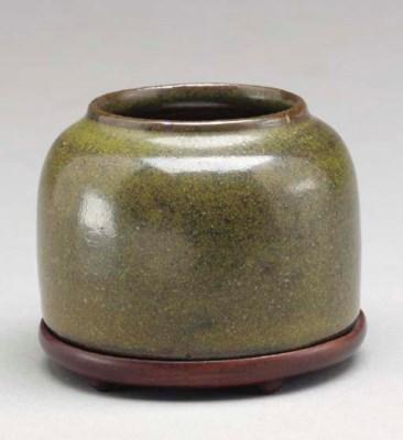 A Small Teadust-Glazed Waterpo