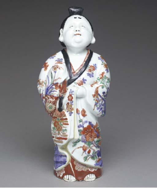 A Porcelain Model of Okame