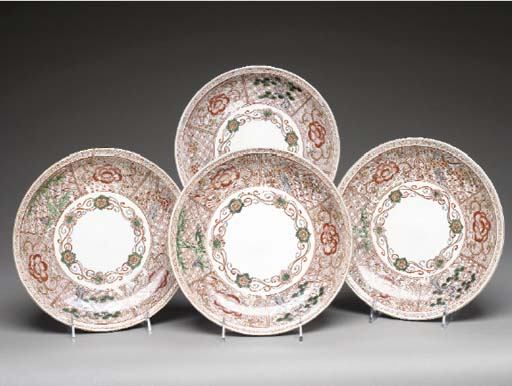 Four Porcelain Dishes