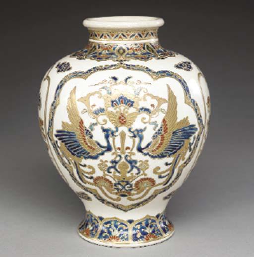 An Earthenware Vase