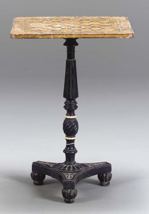 A REGENCY PENWORK, EBONY, AND