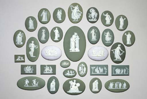 A GROUP OF THIRTY-ONE WEDGWOOD