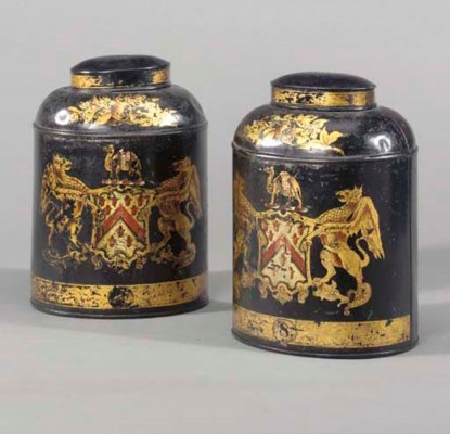 A PAIR OF VICTORIAN GILT AND P