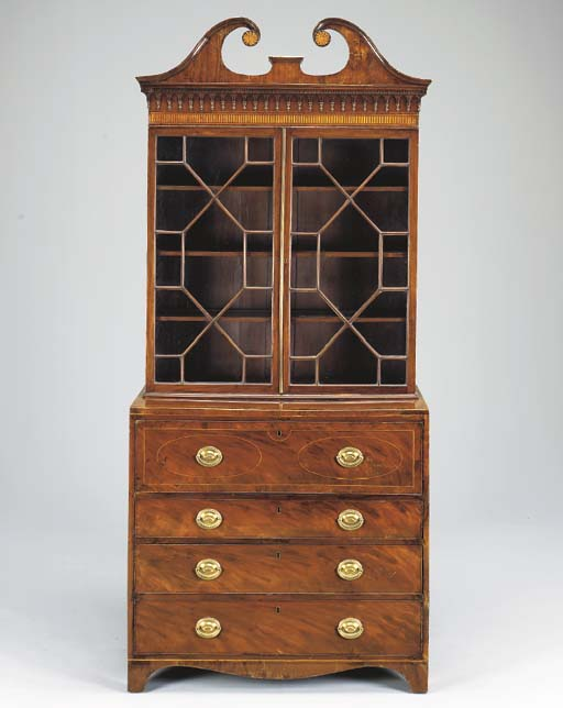 A LATE GEORGE III SATINWOOD-IN