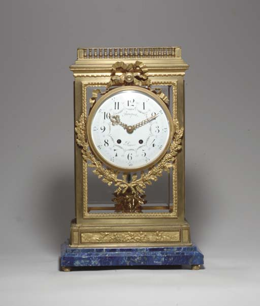 A LOUIS XVI STYLE ORMOLU AND L
