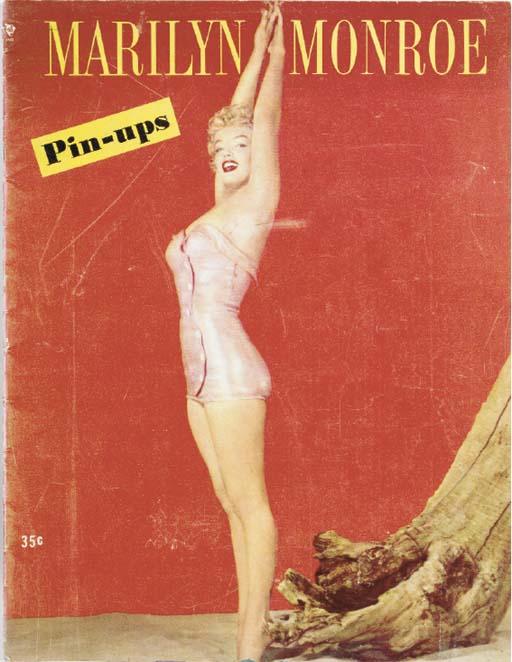 'MARILYN MONROE PIN-UPS' MAGAZ