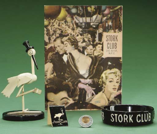 STORK CLUB MEMENTOS