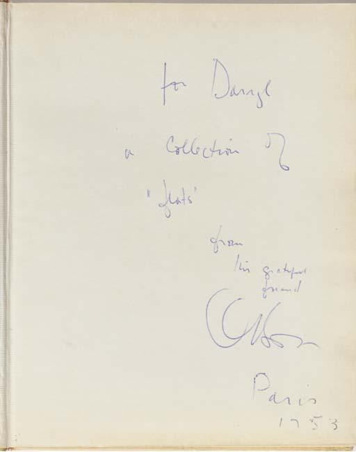ORSON WELLES SIGNED BOOK TO DA