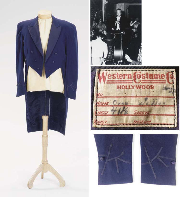 ORSON WELLES TAILCOAT FROM