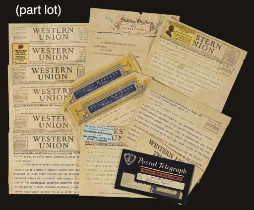 CLARK GABLE TELEGRAMS