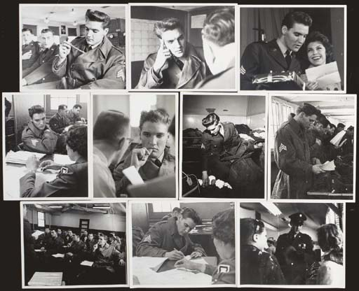 ELVIS PRESLEY ARMY PHOTOGRAPHS