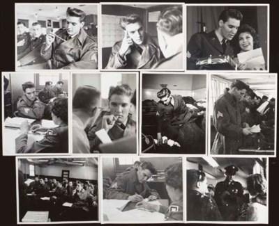 ELVIS PRESLEY ARMY PHOTOGRAPHS