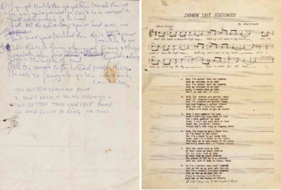 JOHN LENNON HANDWRITTEN LYRICS