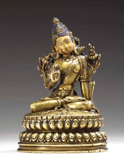 An Unusual Bronze Figure of Ma