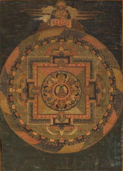 A Vajra Akshobya Mandala