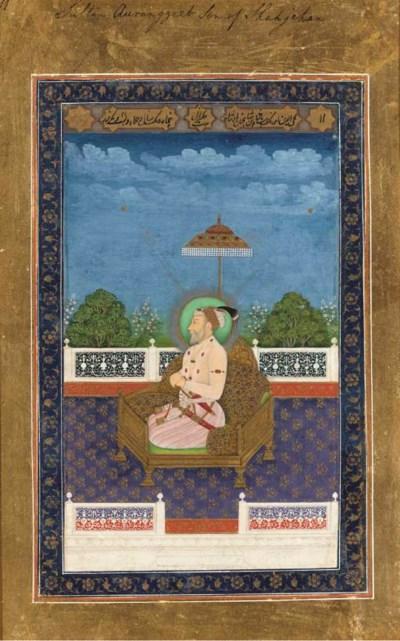A Portrait of Aurangzeb (1618-