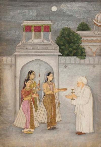 Three Ladies Presenting Offeri
