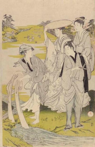 Kubo Shunman (1757-1820) Kitag
