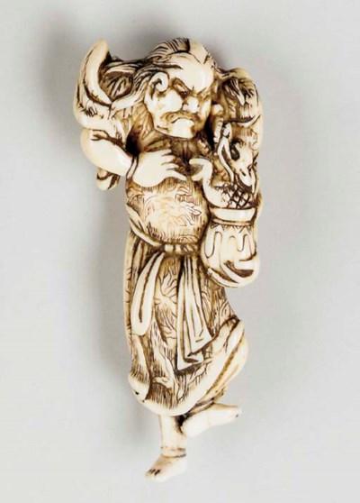 A Large Ivory Netsuke**
