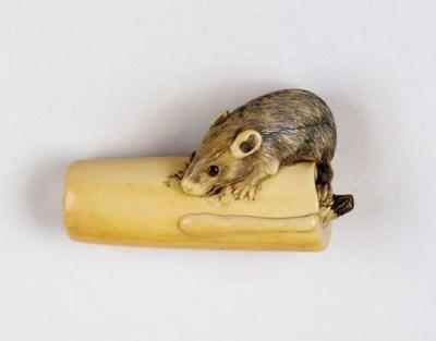 A Kyoto-School Ivory Netsuke**